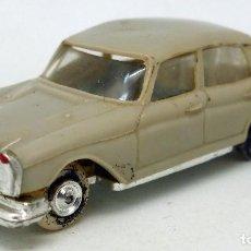 Coches a escala: MERCEDES 220 ANGUPLAS MINI CARS Nº 58 MADE IN SPAIN 1/86 AÑOS 60. Lote 90035727