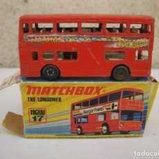 Coches a escala: MATCHBOX - NEW 17 - THE LONDONER - EN CAJA ORIGINAL - AÑO 1972.. Lote 89287144