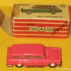Coches a escala: MINI CARS SEAT 1400 FAMILIAR CON SU CAJA ORIGINAL Nº 32 SERIE E. Lote 90052724
