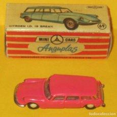 Coches a escala: MINI CARS ANGUPLAS CITROEN I.D. 19 BREAK ROSA CAJA ORIGINAL Nº 20 SERIE E. Lote 90071448