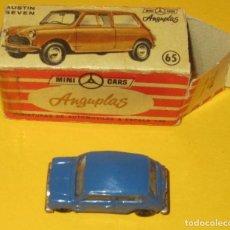Coches a escala: MINI CARS ANGUPLAS AUSTIN SEVEN CON SU CAJA ORIGINAL 65. Lote 90212148