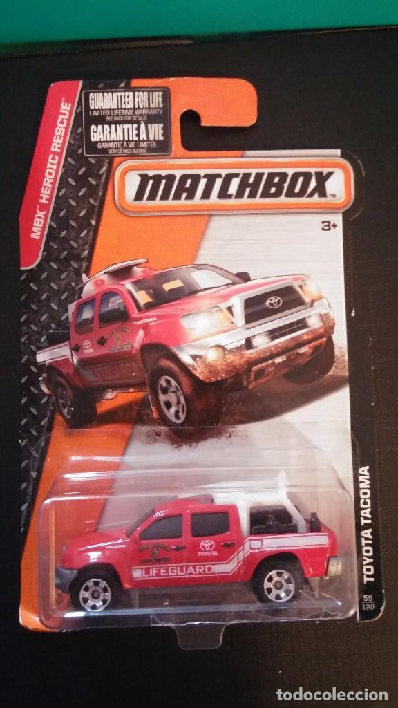 Matchbox Toyota Tacoma Nuevo En Su Blister Comprar Coches En