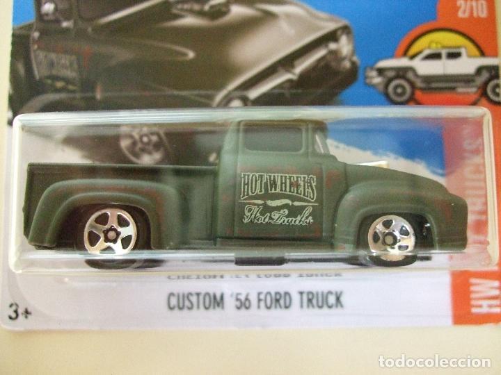 Custom 56 Ford Truck 1956 Hot Wheels Mattel Comprar Coches En
