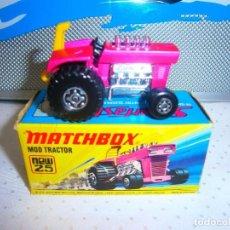 Coches a escala: MATCHBOX MOD TRACTOR NEW Nº25 EN SU CAJA ORIGINAL. Lote 91966755