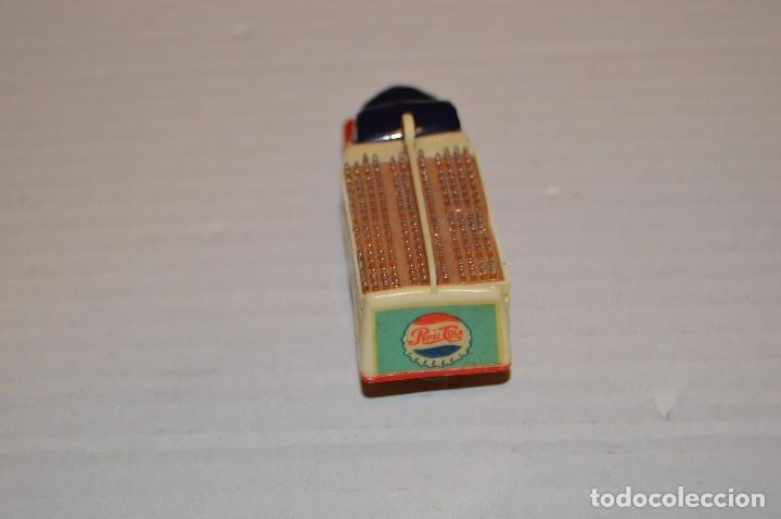 Coches a escala: ANGUPLAS MINI CARS CAMION EBRO PEPSI COLA - N 15 - 1/86 - MUY ANTIGUO, EN CAJA ORIGINAL - HAZ OFERTA - Foto 5 - 92743110