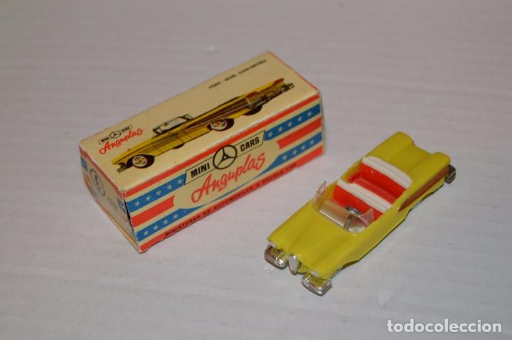 ANGUPLAS MINI CARS - FORD EDSEL CONV - SERIE USA - 1/86 - MUY ANTIGUO, EN CAJA ORIGINAL - HAZ OFERTA (Juguetes - Coches a Escala Otras Escalas )