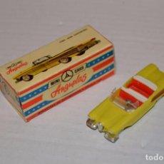 Coches a escala: ANGUPLAS MINI CARS - FORD EDSEL CONV - SERIE USA - 1/86 - MUY ANTIGUO, EN CAJA ORIGINAL - HAZ OFERTA. Lote 92743630