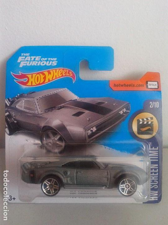 Dodge Ice Charger >> Hot Wheels Ice Charger The Fate Of The Furious Dodge Time Screen 2017 Nuevo En Blister Sellado