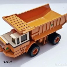 Coches a escala: ERTL MIGHTY MOVERS PAYHAULER 350 DUMP TRUCK 1986 - MADE IN USA. Lote 93616760