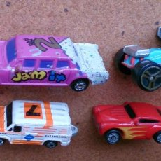 Coches a escala: LOTE 4 COCHES MICRO MACHINES ATE RACING. Lote 94930783