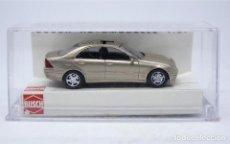 H0 Mercedes-Benz C-Klasse Avantgarde Busch 89138-1//87 Schwarz Neu
