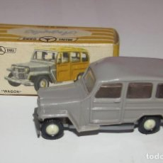 Coches a escala: JEEP WAGON ANGUPLAS MINI-CARS. ORIGINAL. CON CAJA. Nº 61 - 1/86. Lote 96025259
