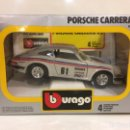 Coches a escala: PORSCHE CARRERA RS DE BURAGO 17X17CM. Lote 96319866