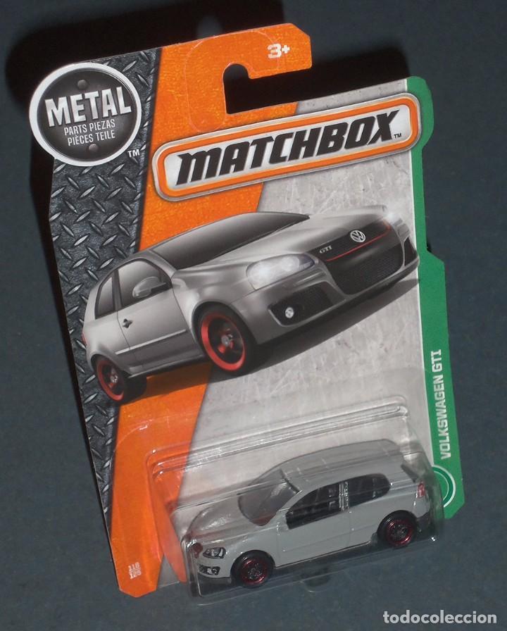 Coche Volkswagen Golf V Gti Matchbox 1 59 Comprar Coches En