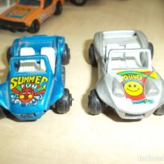 Coches a escala: GUISVAL - LOTE BUGGY.VOLKSWAGEN Y SKODA.CHASIS METÁLICO.MADE IN SPAIN.. Lote 97631103