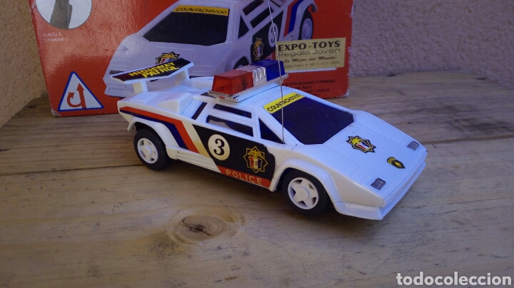 Coche De Policia Teledirigido En Caja Original Buy Model Cars At