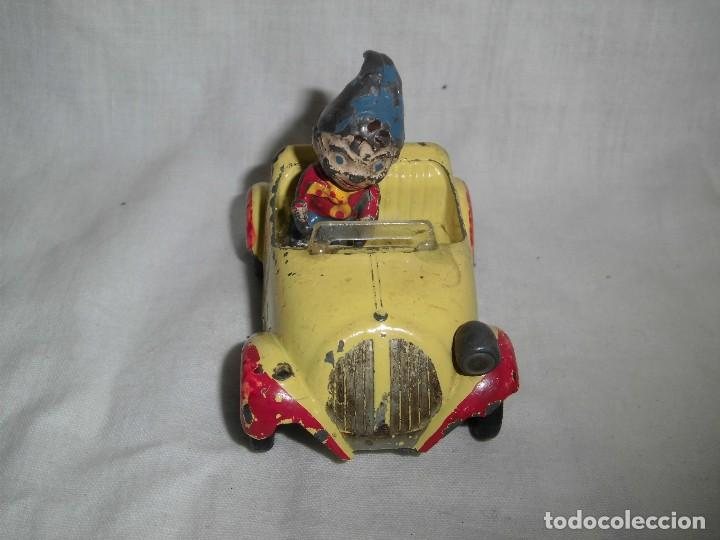 NODDY AND HIS CAR.MORESTONE SERIES.MADE IN ENGLAND.LE FALTA UN FOCO VER FOTOS DEL ESTADO (Juguetes - Coches a Escala Otras Escalas )
