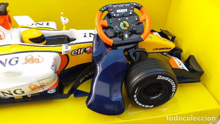 Coches a escala: NEW RAY RENAULT ING FORMULA 1 FERNANDO ALONSO. IMPORTANTE LEER - Foto 5 - 98610043