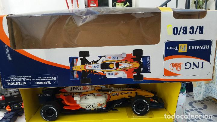 Coches a escala: NEW RAY RENAULT ING FORMULA 1 FERNANDO ALONSO. IMPORTANTE LEER - Foto 8 - 98610043