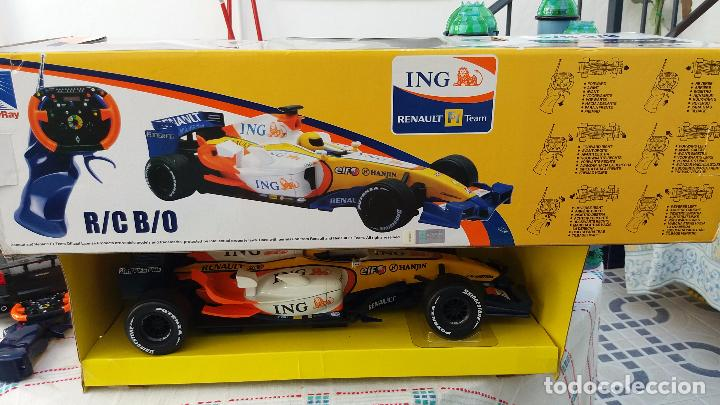 Coches a escala: NEW RAY RENAULT ING FORMULA 1 FERNANDO ALONSO. IMPORTANTE LEER - Foto 9 - 98610043