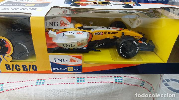 Coches a escala: NEW RAY RENAULT ING FORMULA 1 FERNANDO ALONSO. IMPORTANTE LEER - Foto 12 - 98610043