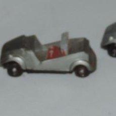 Coches a escala: 3 COCHES MINI CARS, ANGUPLAS, BISCUTER Nº 21, ESCALA 1/86, MADE IN SPAIN, AÑOS 60.. Lote 99030963