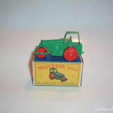 Coches a escala: MATCHBOX, AVELING BARFORD ROAD ROLLER, REF. 1D. Lote 99806131