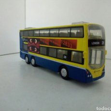 Coches a escala: AUTOBUS CIRCLE BUS LONDON 28 MADE IN CHINA. Lote 100421098