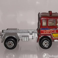 Coches a escala: MIRA : ANTIGUO CAMION PEGASO - TRANSPORTE HIPICA - ESCALA 1/64 MADE IN SPAIN AÑOS 70 / 80. Lote 100711175