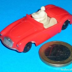 Coches a escala: MGA SPORTS COUPE 7422, MATCHBOX 19B COPY, PLASTIC H0 1/87 MADE IN HONG KONG BY BLUE BOX, AÑOS 60.. Lote 101187223