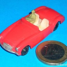 Coches a escala: MGA SPORTS COUPE 7422, MATCHBOX 19B COPY, PLASTIC H0 1/87 MADE IN HONG KONG BY BLUE BOX, AÑOS 60.. Lote 101187747