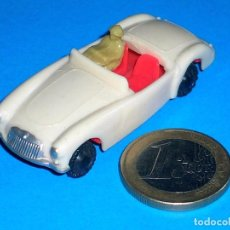 Coches a escala: MGA SPORTS COUPE 7422, MATCHBOX 19B COPY, PLASTIC H0 1/87 MADE IN HONG KONG BY BLUE BOX, AÑOS 60.. Lote 101187883