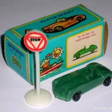Coches a escala: MGA SPORTS COUPE, PLASTIC H0 1/87 MADE IN HONG KONG BY NATIONAL TOYS, AÑOS 60.. Lote 101188675