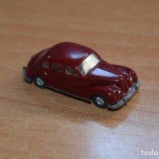 Coches a escala: RARO BMW 501 VETERAN DE WIKING - H0 1:87 - 1975 - 84 - REF. 195/1F - BUEN ESTADO -1ª SERIE - MARRON. Lote 223552242