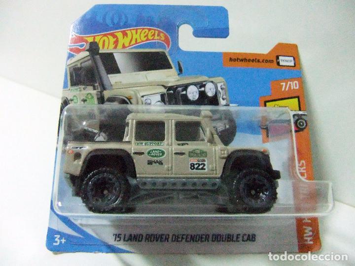 15 land rover defender double cab 2015 - hot w - kaufen modellautos