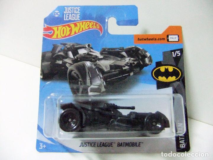 League En Batmóvil Hot Wheels Justice Venta Vendido Batmobile wOkn0P