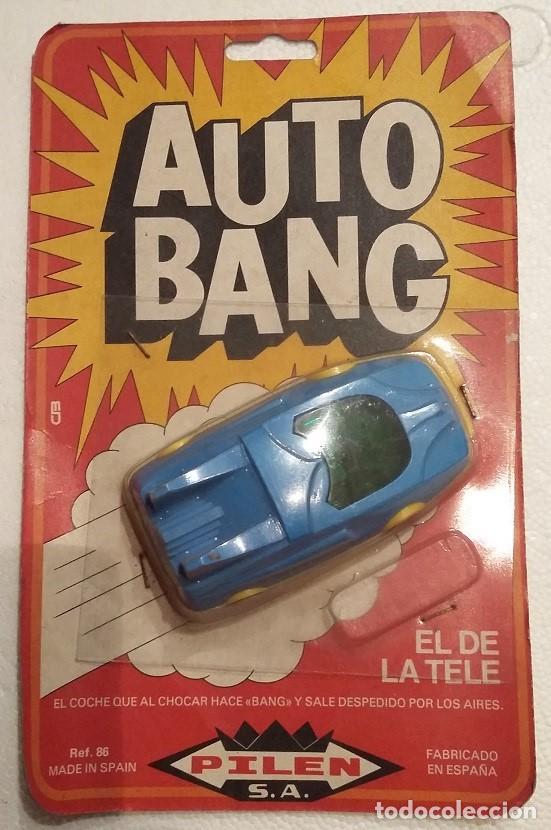 Años Blister Estrenar 80 FulminantesEn AzulAuto Bang Pilen Autobang Coche 70 Con OriginalA 6f7gYby