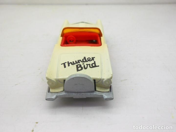 Coches a escala: 1604 COCHE THUNDERBIRD MATCHBOX MACAO 1982 MODEL CAR 1/64 1.64 MINIATURA THUNDER BIRD MINIATURE - Foto 3 - 102630899