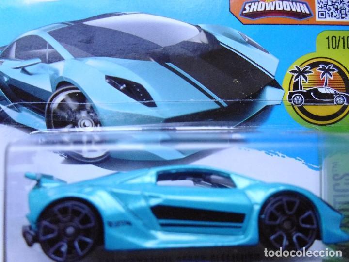 Hot Wheels Lamborghini Sesto Elemento Azul Turq Buy Model Cars At