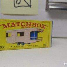 Coches a escala: MATCHBOX EN CAJA REF :TRAILER CARAVAN Nº 23. Lote 102696363
