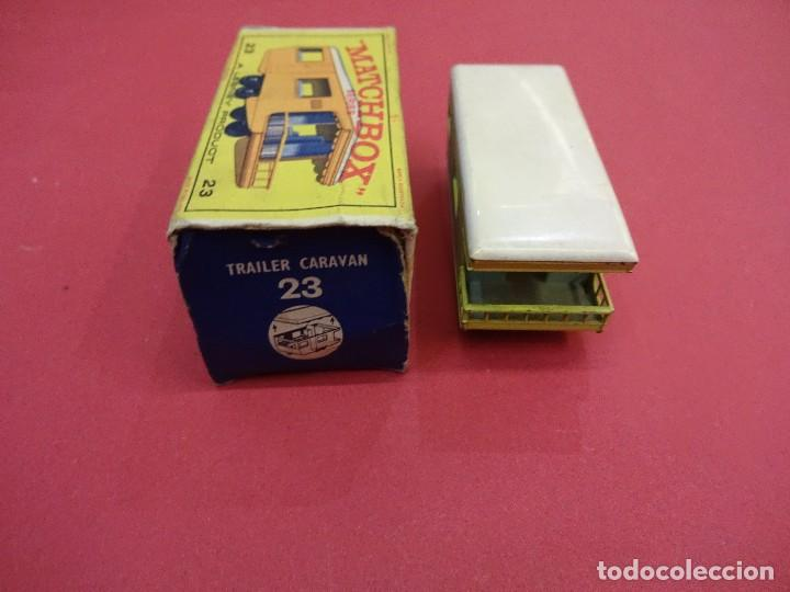 Coches a escala: CARAVANA MATCHBOX TRAILER CARAVAN Nº 23 CAJA ORIGINAL MADE IN ENGLAND - Foto 3 - 103072659