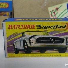 Coches a escala: ANTIGUO COCHE MATCHBOX SUPERFAST Nº 27 MERCEDES 230 SL. Lote 103215875