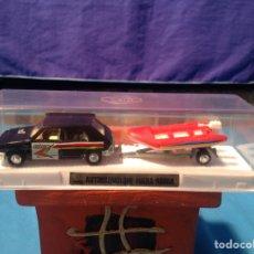 Coches a escala: SEAT RITMO CLX AUTORREMOLQUE FUERA BORDA DE MIRA EN SU CAJA NUEVO A ESTRENA!!!. Lote 103475252