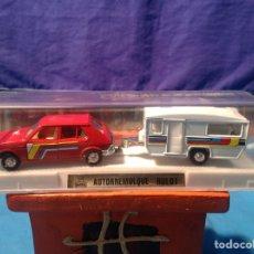 Coches a escala: SEAT RITMO CLX AUTOREMOLQUE RULOT DE MIRA EN SU CAJA NUEVO A ESTRENAR!!. Lote 103480716