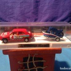 Coches a escala: RENAULT 14 GTS AUTORREMOLQUE MOTO CROSS EN SU CAJA NUEVO A ESTRENAR DE MIRA!!. Lote 103483975