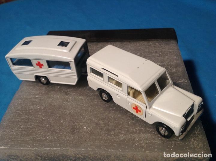 Land Rover Con Caravana Cruz Roja De Mira Ref16 Comprar Coches En