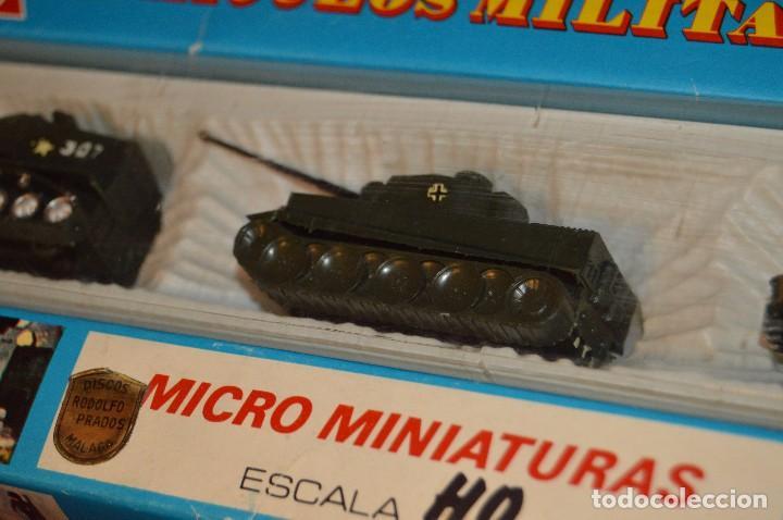 Coches a escala: CAJA/estuche con 3 MICRO MINIATURAS VEHÍCULOS MILITARES ESCALA H0 EKO - MADE IN SPAIN ¡Dificil! 04 - Foto 4 - 103533955