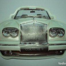 Coches a escala: CORNICHE II. TROQUELADO EN PLASTICO. Lote 103710307