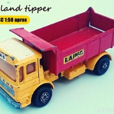 Coches a escala: MATCHBOX SUPER KINGS LEYLAND TIPPER LAING VOLQUETE . Lote 103725191