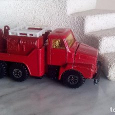 Coches a escala: CAMION VOLVO BOMBERO MARCA GUISVAL MADE IN SPAIN ANTIGUO. Lote 104762827